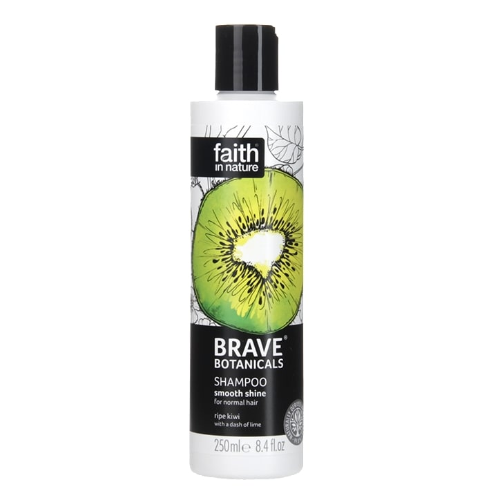 Faith in Nature Brave Botanicals Smooth Shine Kiwi & Lime Shampoo