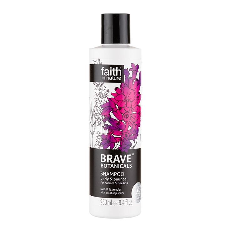 Faith in Nature Brave Botanicals Body & Bounce Lavender & Jasmine Shampoo 250ml