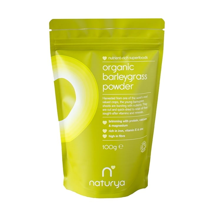 Naturya Organic Barleygrass Powder 100g