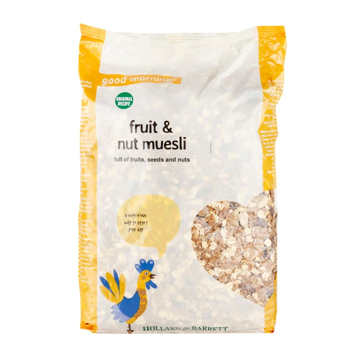 Holland & Barrett Original Recipe Muesli Fruit & Nut Original 2kg