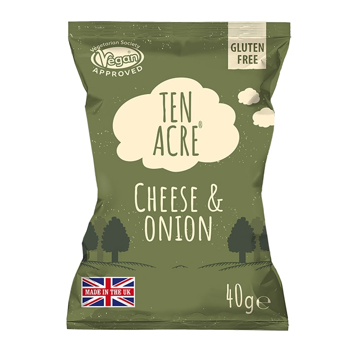 Ten Acre Crisps The Story Of  When The Cheese Met The Onion 40g