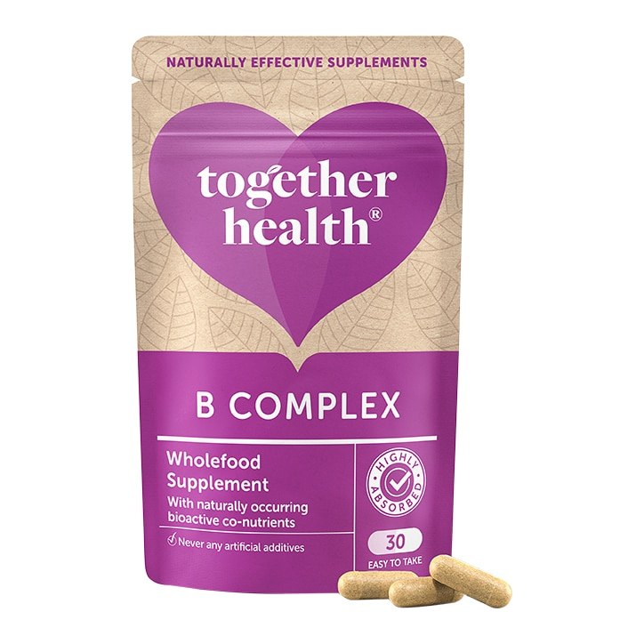 Together Health WholeVits B Complex 30 Capsules