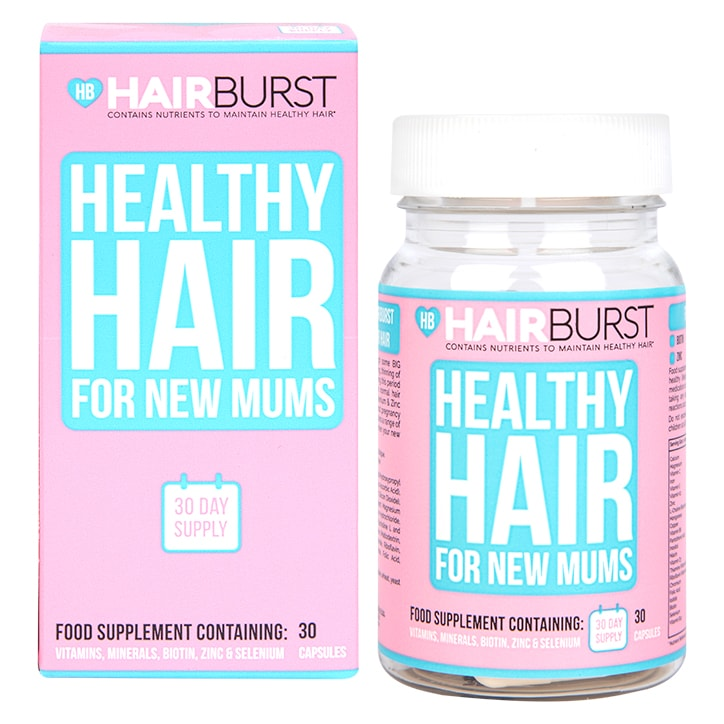 Hairburst For New Mums 30 Capsules 1 Month Supply