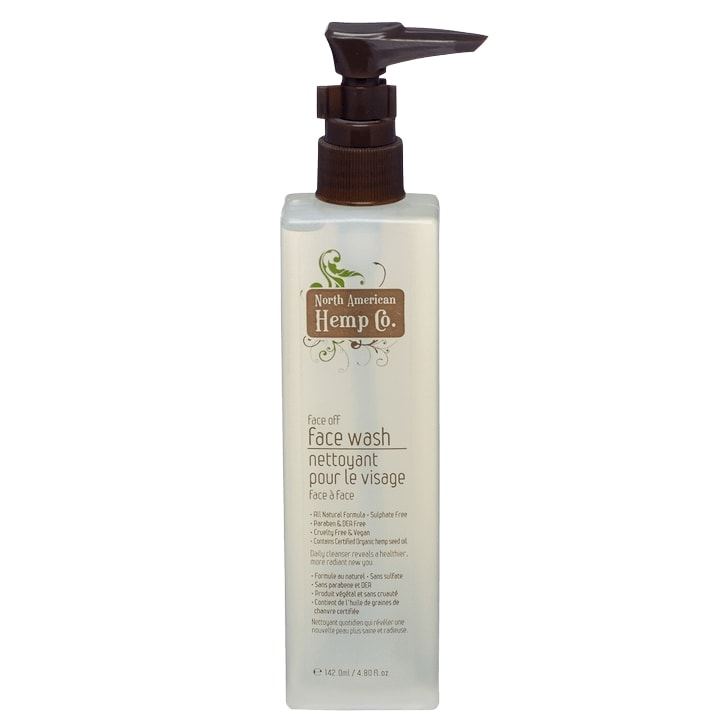 North American Hemp Co Face Off Face Wash
