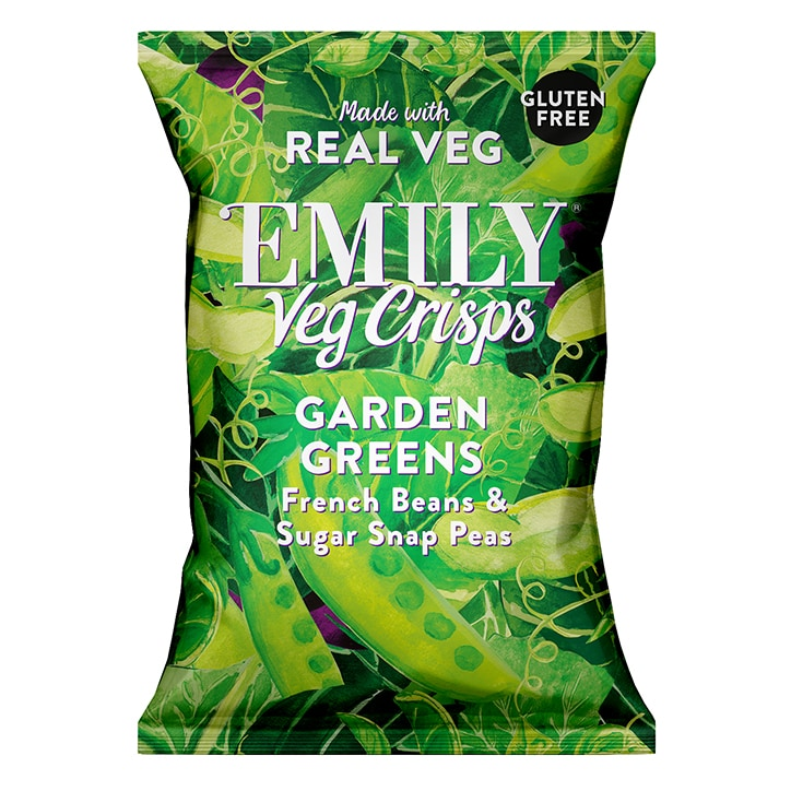 Emily Vegetable Crisps Spring Greens 23g