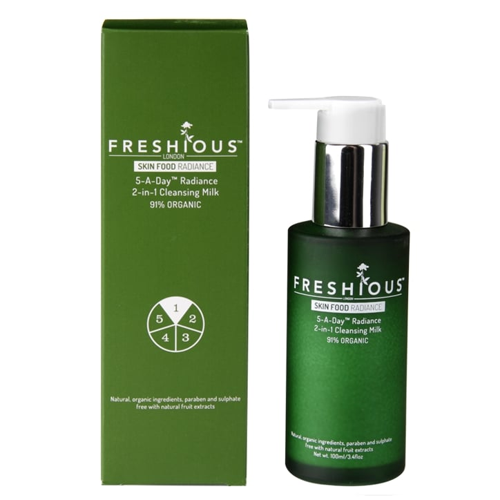 Freshious 5-a-Day 2-in-1 Cleansing Milk 100ml