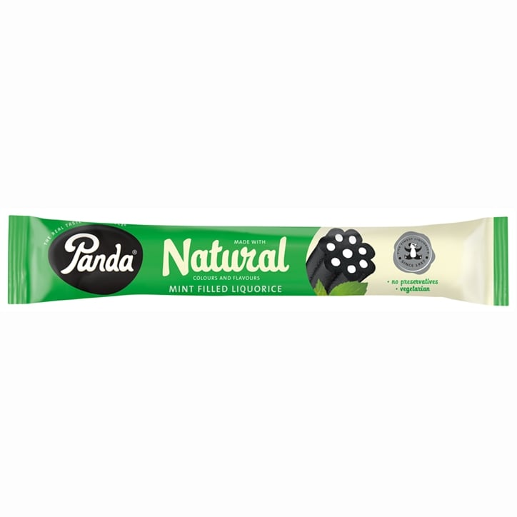 Panda All Natural Mint Filled Liquorice Bar 26g