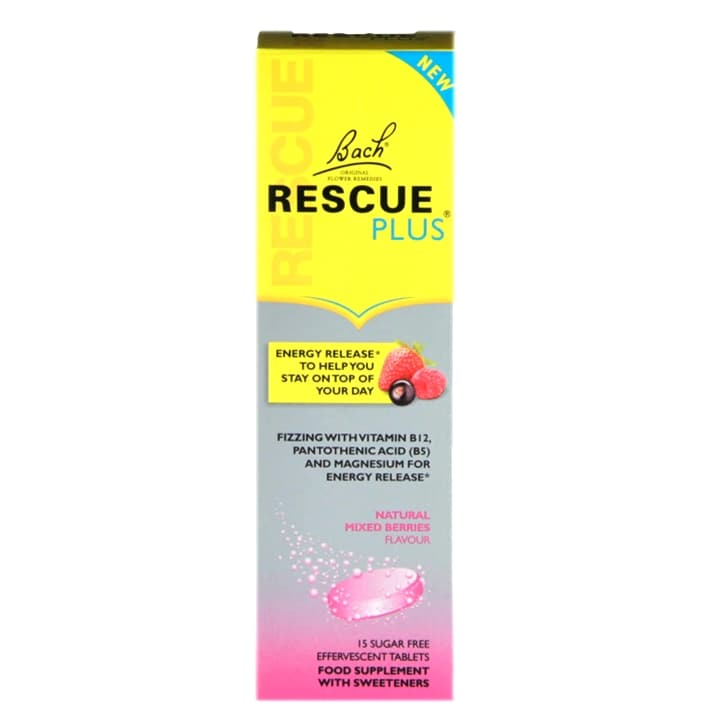 Nelsons Rescue Plus 15 Effervescent Tablets
