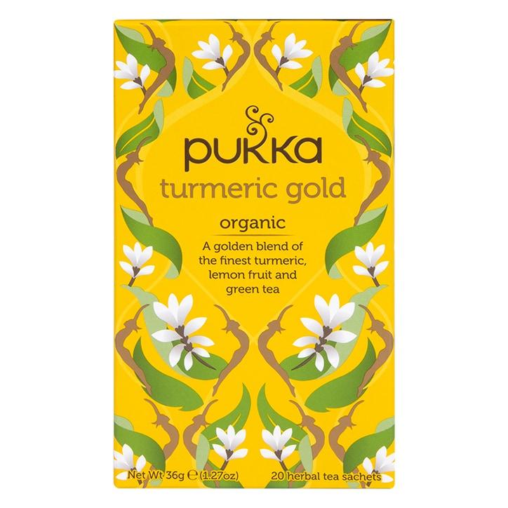 Pukka Organic Turmeric Gold Herbal Tea