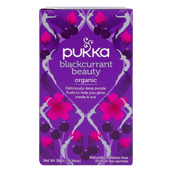 Pukka Organic Blackcurrant Beauty Fruit Tea 36g