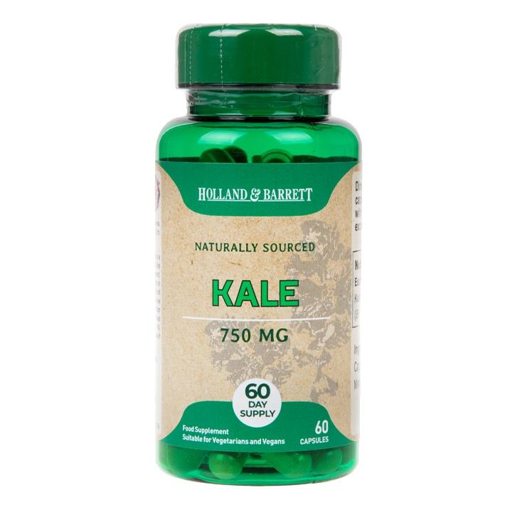 Holland & Barrett Kale 750mg 60 Capsules