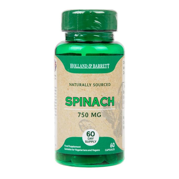 Holland & Barrett Spinach Capsules 750mg