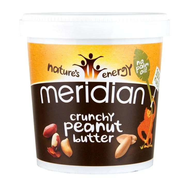 Meridian Crunchy Peanut Butter 750g