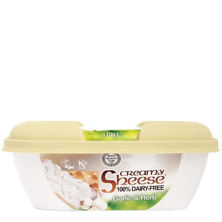 Creamy Sheese Creamy Garlic & Herb Spread 170g
