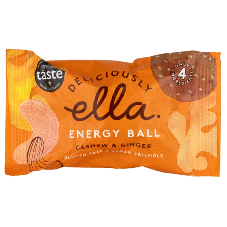 Deliciously Ella Energy Ball Cashew & Ginger 40g