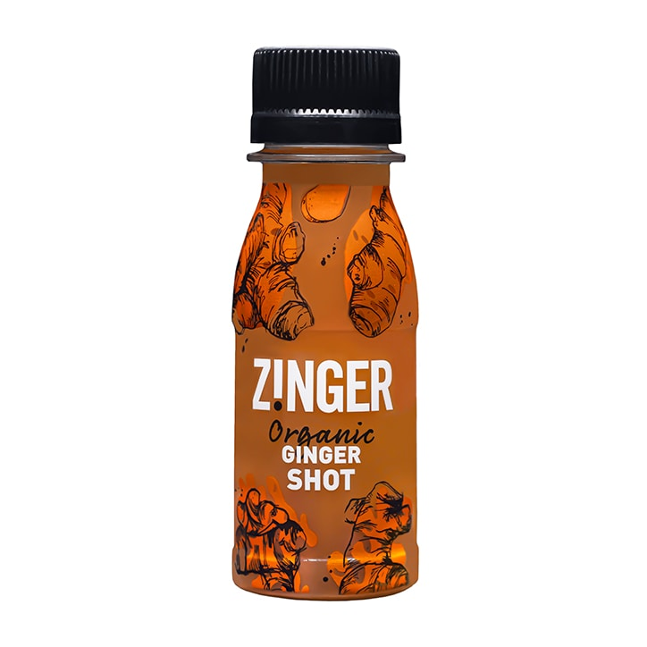 James White Drinks Organic Ginger Zinger Shot