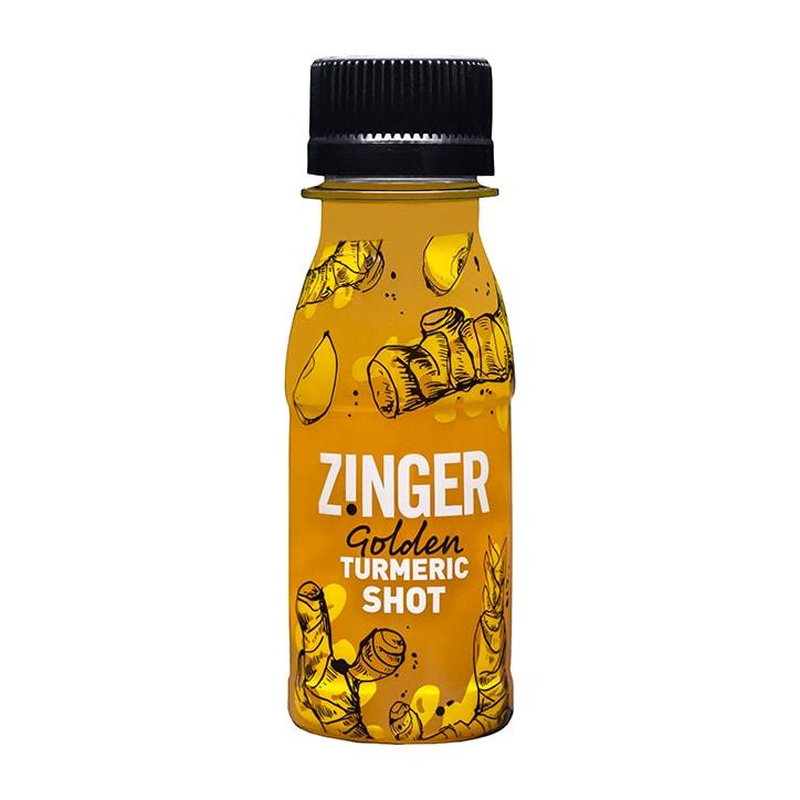 James White Drinks Turmeric Zinger Shot