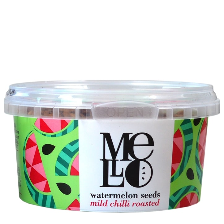 Mello Watermelon Seeds - Mild Chilli Roasted 125g
