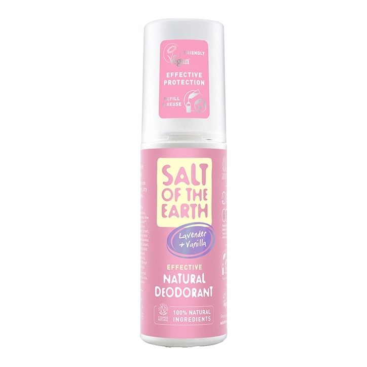 Salt of the Earth Lavender & Vanilla Natural Deodorant Spray 100ml