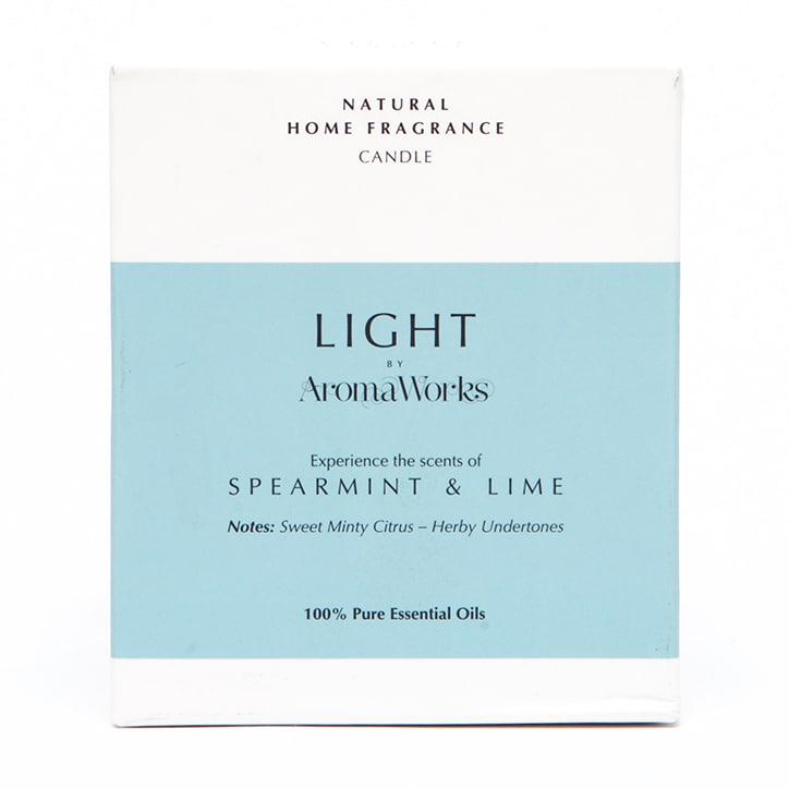 AromaWorks Spearmint & Lime Candle