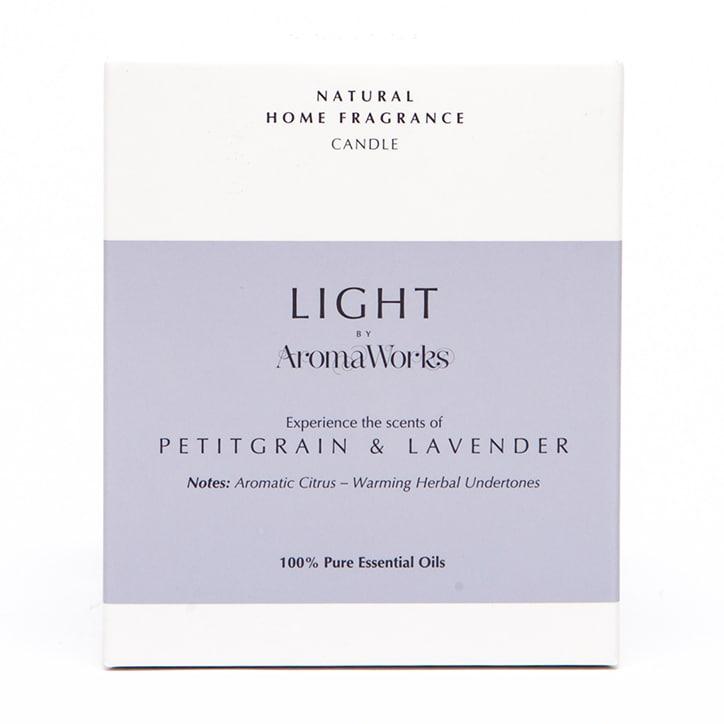 AromaWorks Lavender & Petitgrain Candle