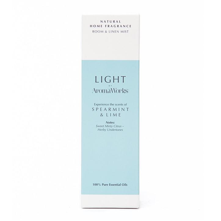 AromaWorks Spearmint & Lime Room & Linen Mist