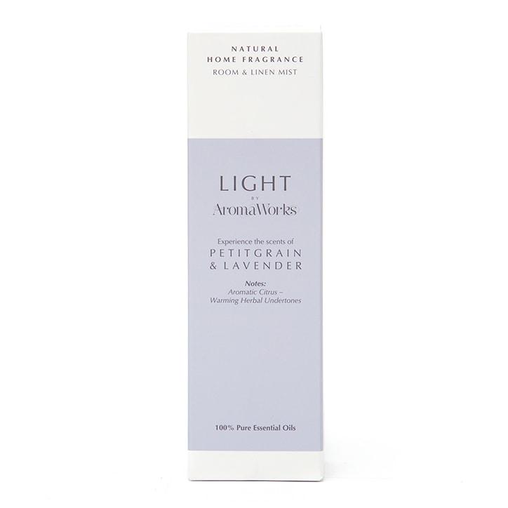 AromaWorks Lavender & Petitgrain Room & Linen Mist