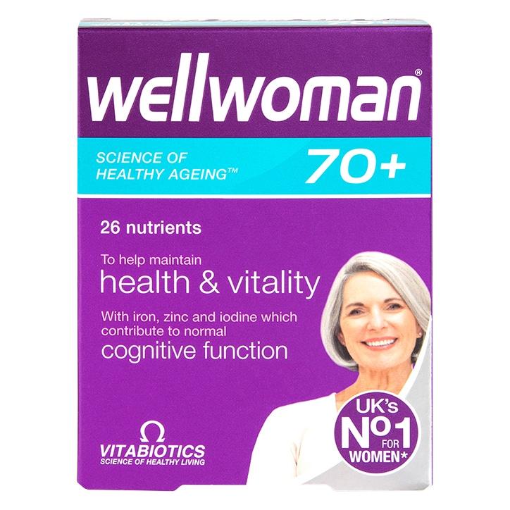 Vitabiotics Wellwoman 70+ 30 Tablets