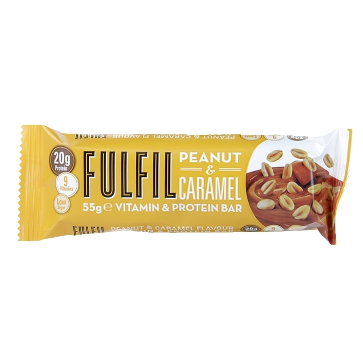 Fulfil Peanut & Caramel Bar 55g