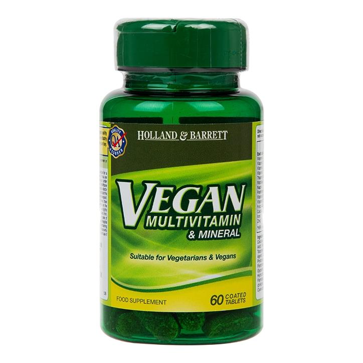 Holland & Barrett Vegan Multivitamin & Mineral Tablets