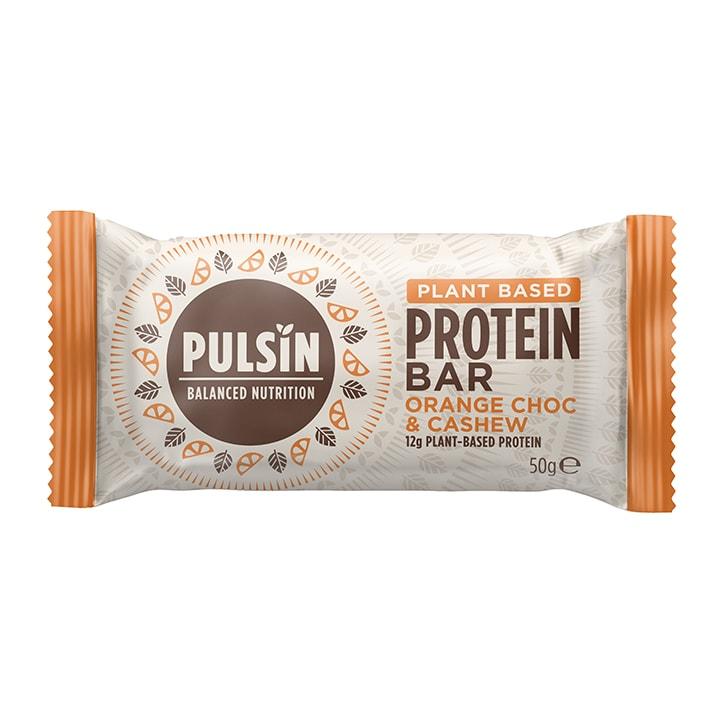 Pulsin Orange Choc Chip Protein Booster 50g