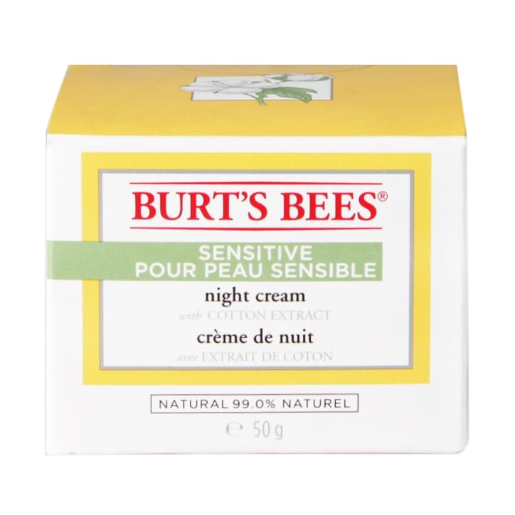 Burt's Bees Sensitive Night Cream 50g