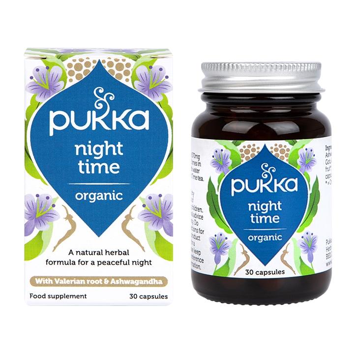 Pukka Night Time 30 Capsules