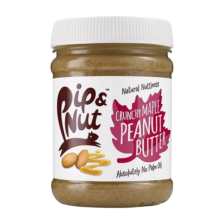 Pip & Nut Crunchy Maple Peanut Butter