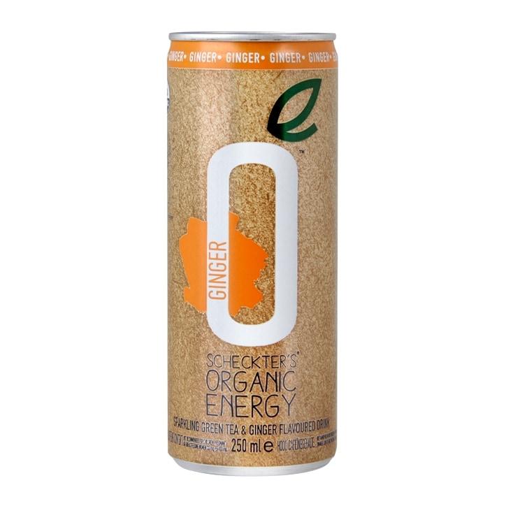 Scheckter's Organic Energy Green Tea & Ginger 250ml