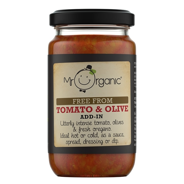 Mr Organic Tomato & Olive Add In Sauce 190g