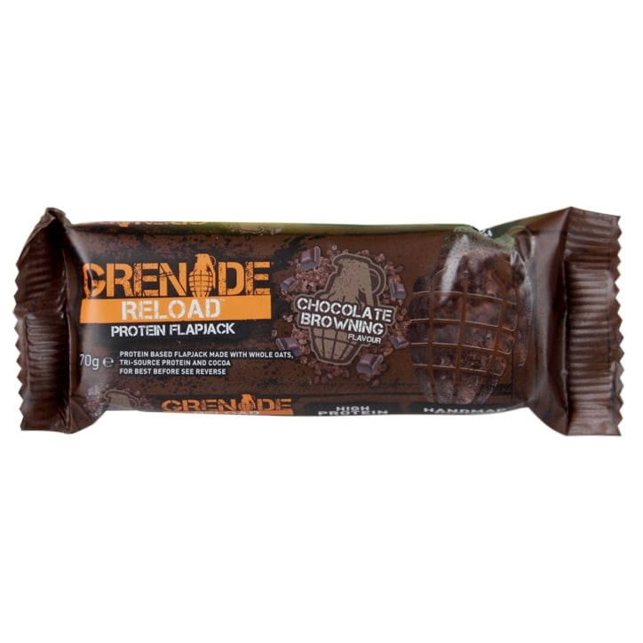 Grenade Reload Flapjack Chocolate Browning 70g