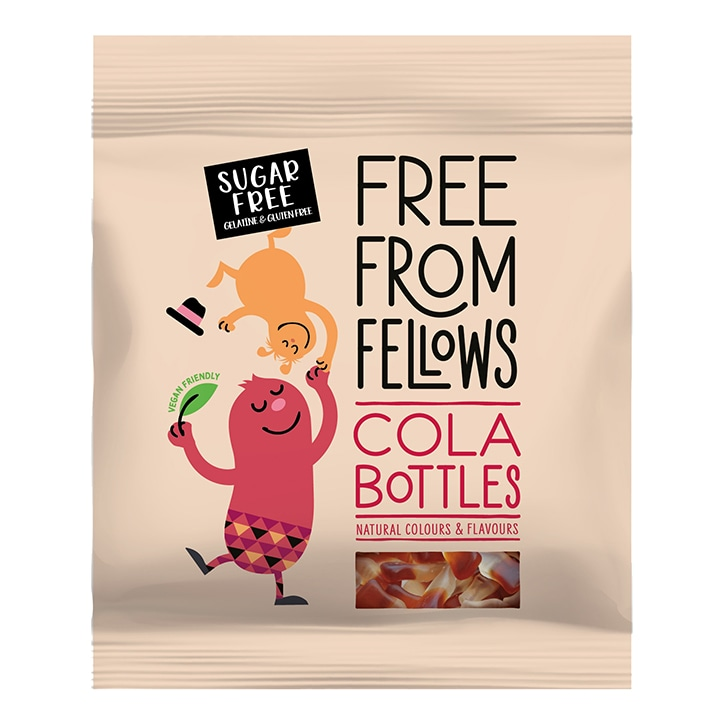 Free From Fellows Cola Bottles 100g