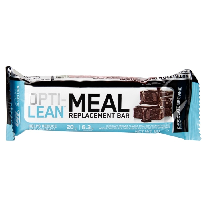 Optimum Nutrition Opti-Lean Meal Replacement Bar Chocolate Brownie 60g