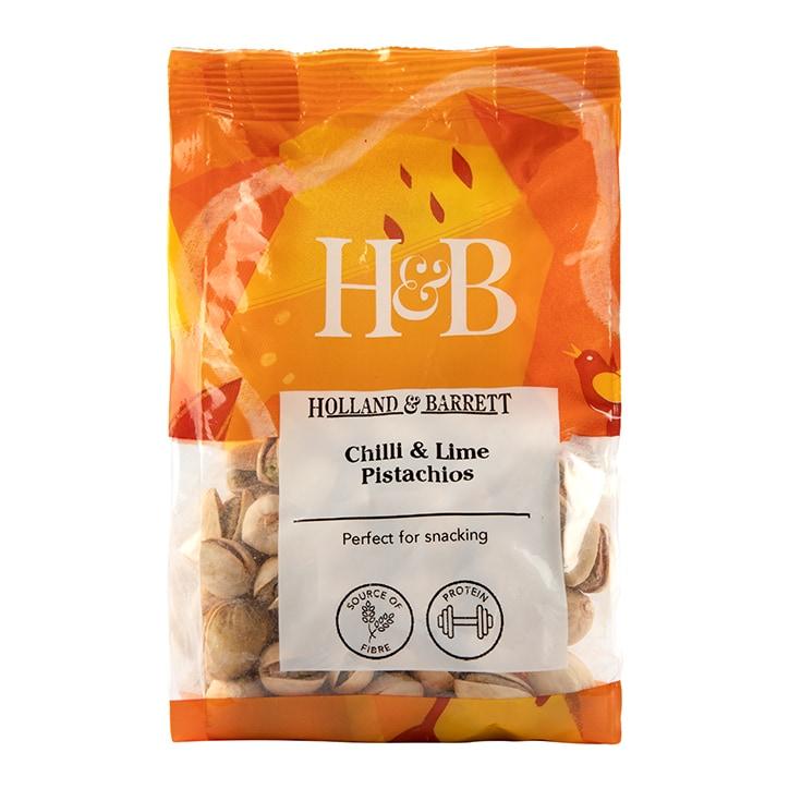 Holland & Barrett Chilli & Lime Pistachios 150g