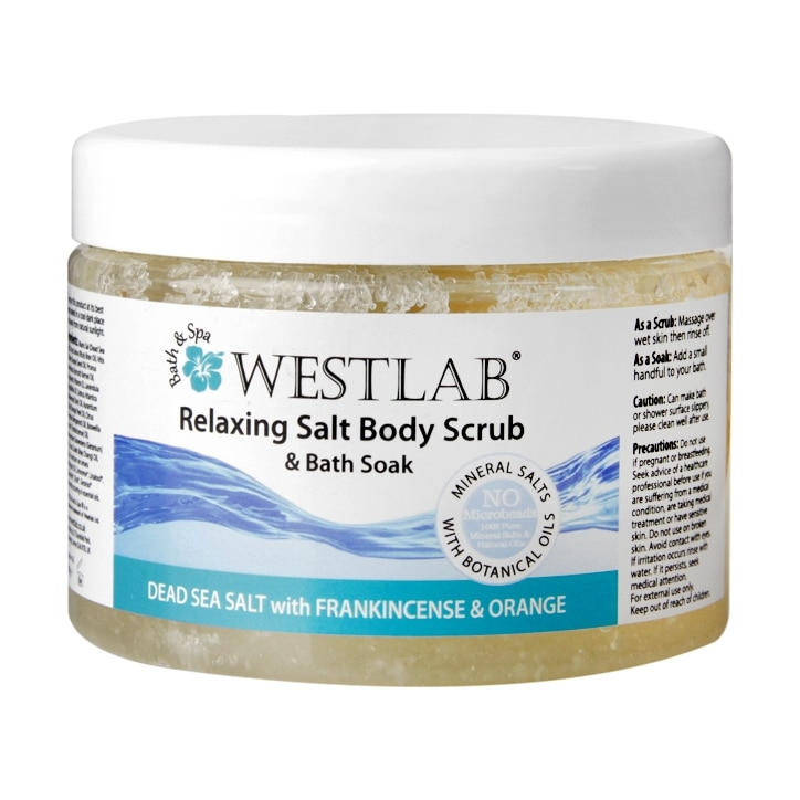 Westlab Relaxing Salt Body Scrub & Bath Soak