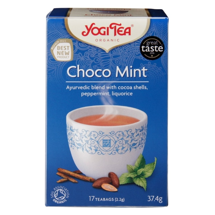 Yogi Tea Choco Mint Organic 17 Tea Bags