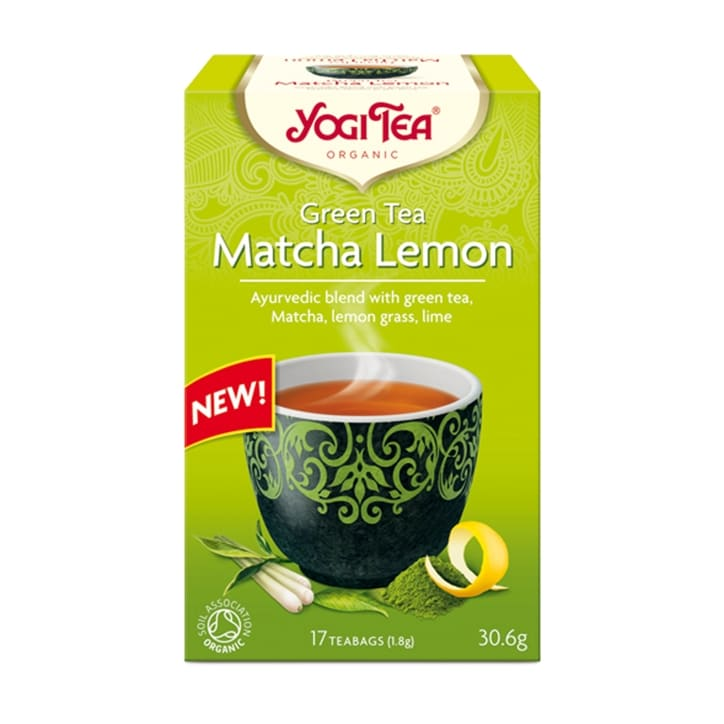 Yogi Tea Green Tea Matcha Lemon Organic 17 Tea Bags