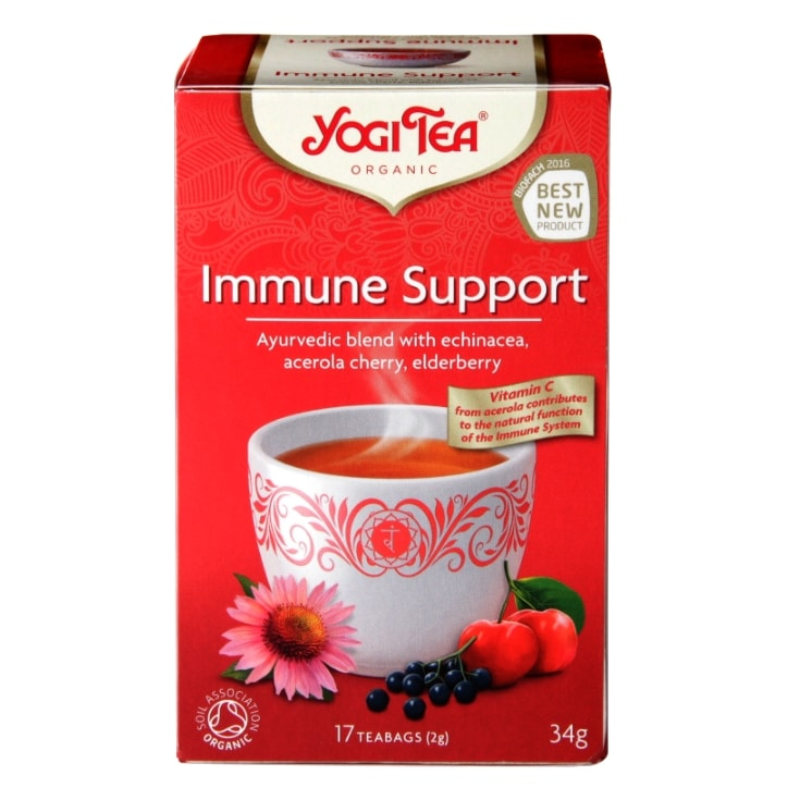 Yogi Tea Immune Support Organic 17 Tea Bags