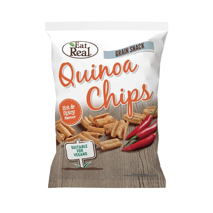 Eat Real Hot & Spicy Quinoa Chips