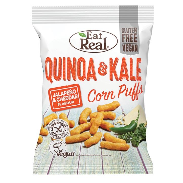 Eat Real Jalapeño & Cheddar Quinoa & Kale Puffs