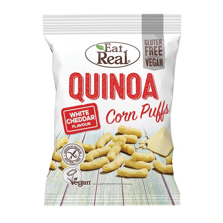 Eat Real White Cheddar Quinoa Puffs