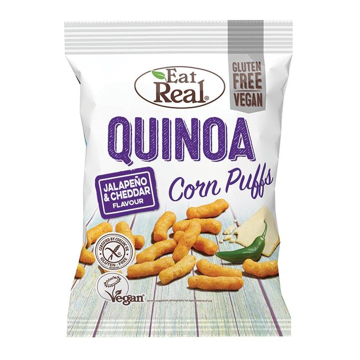 Eat Real Jalapeño & Cheddar Quinoa Puffs 113g