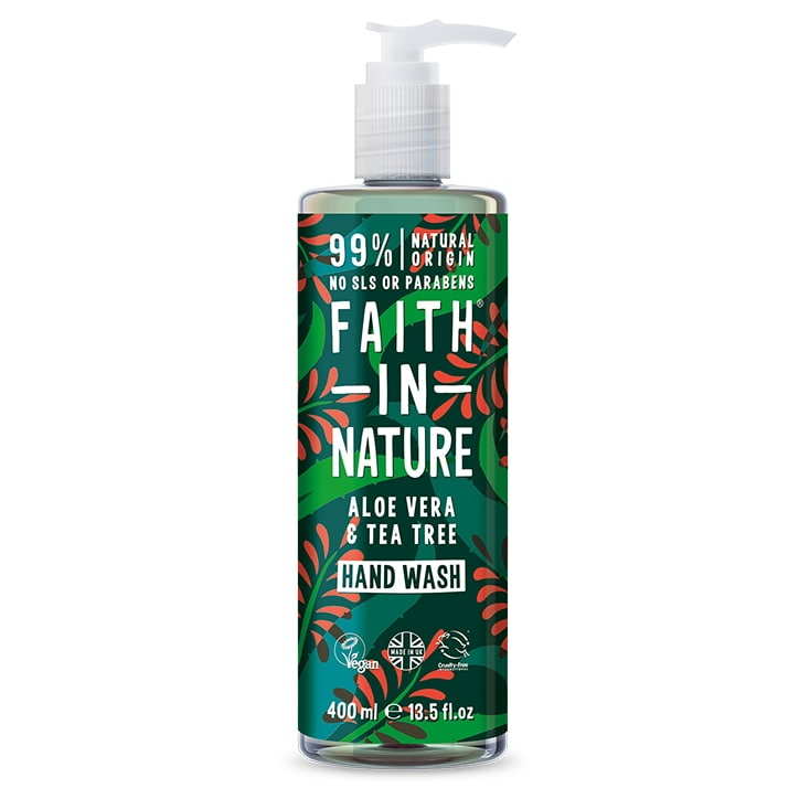 Faith in Nature Aloe Vera and Tea Tree Hand Wash 400ml