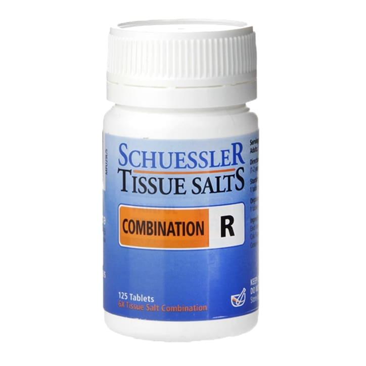 Schuessler Combination R Tissue Salts 125 Tablets